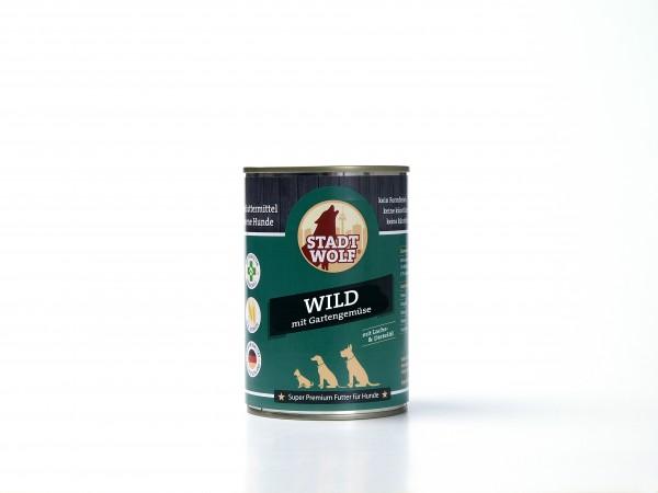 Wild mit Gartengemüse & Distel-und Lachsöl