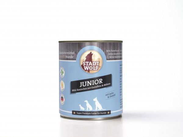 Junior mit Wild, Kaninchen & hochwertigen Ölen